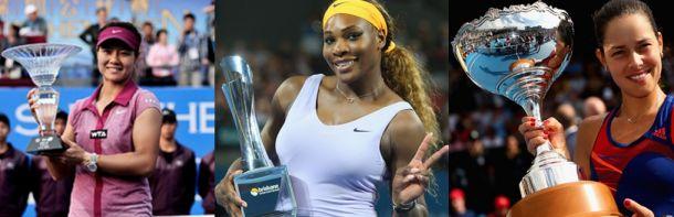 Ivanovic gagne à Auckland, Na Li à Shenzhen et Serena Williams à Brisbane