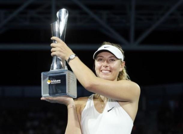 Sharapova, Halep Headline WTA Brisbane Field