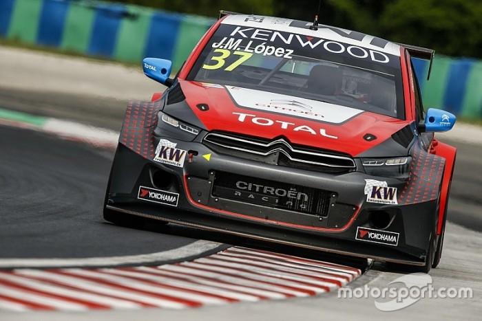 WTCC, Hungaroring: pole strepitosa di Lopez