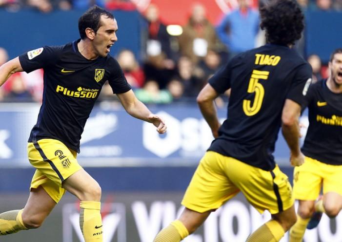 """Godín: """"Estoy contento por el gol, pero mucho más por el triunfo"""""""