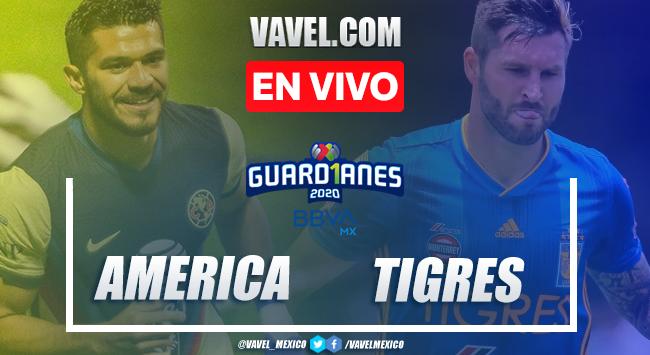 Goles y resumen: América 3-1 Tigres en Liga MX Guard1anes 2020