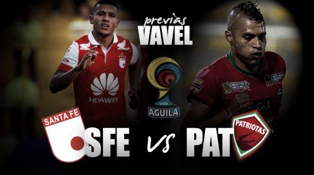 Independiente Santa Fe – Patriotas: duelo de rojos en la apertura de la fecha