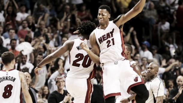 Whiteside, Winslow e vintage Wade: il percorso da contender dei Miami Heat