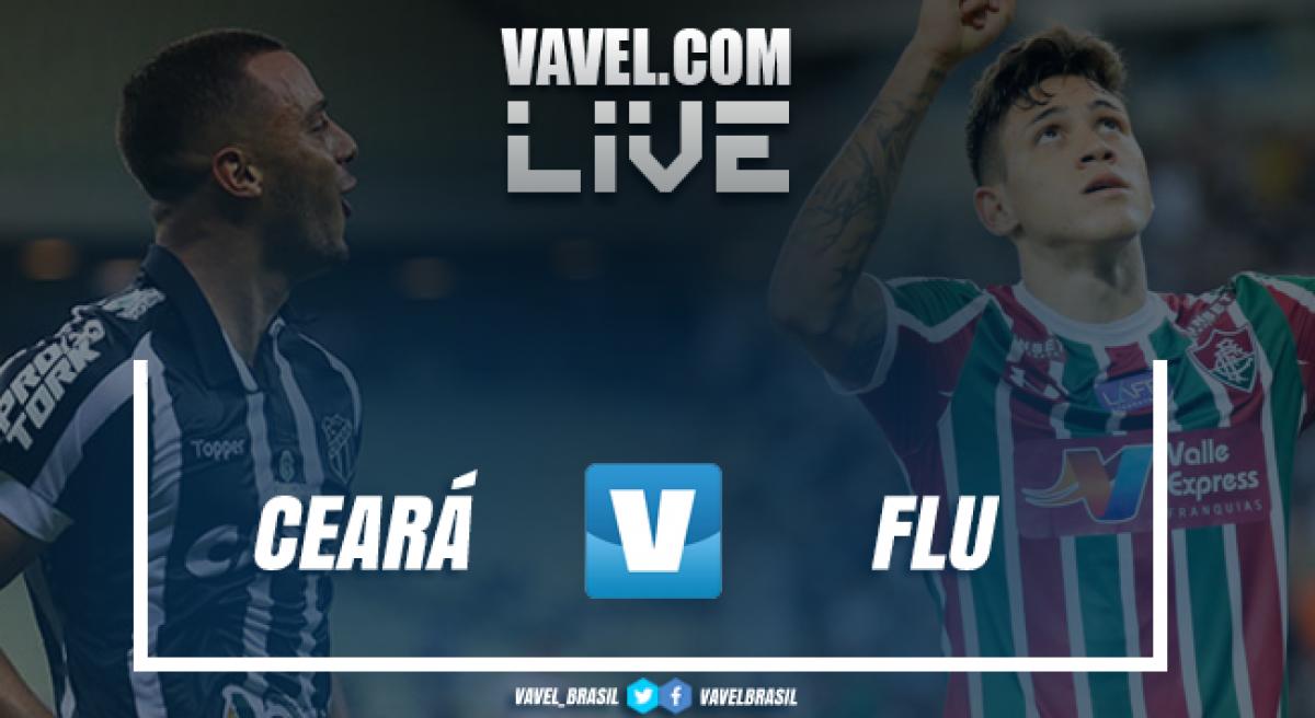Resultado Ceará 1 x 0 Fluminense pelo Campeonato Brasileiro 2018