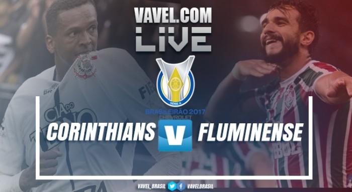 Jogo Corinthians x Fluminense AO VIVO online no Brasileirão 2017 (3-1)