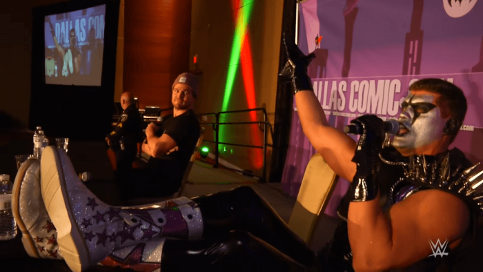 Stardust Confronts Stephan Amell
