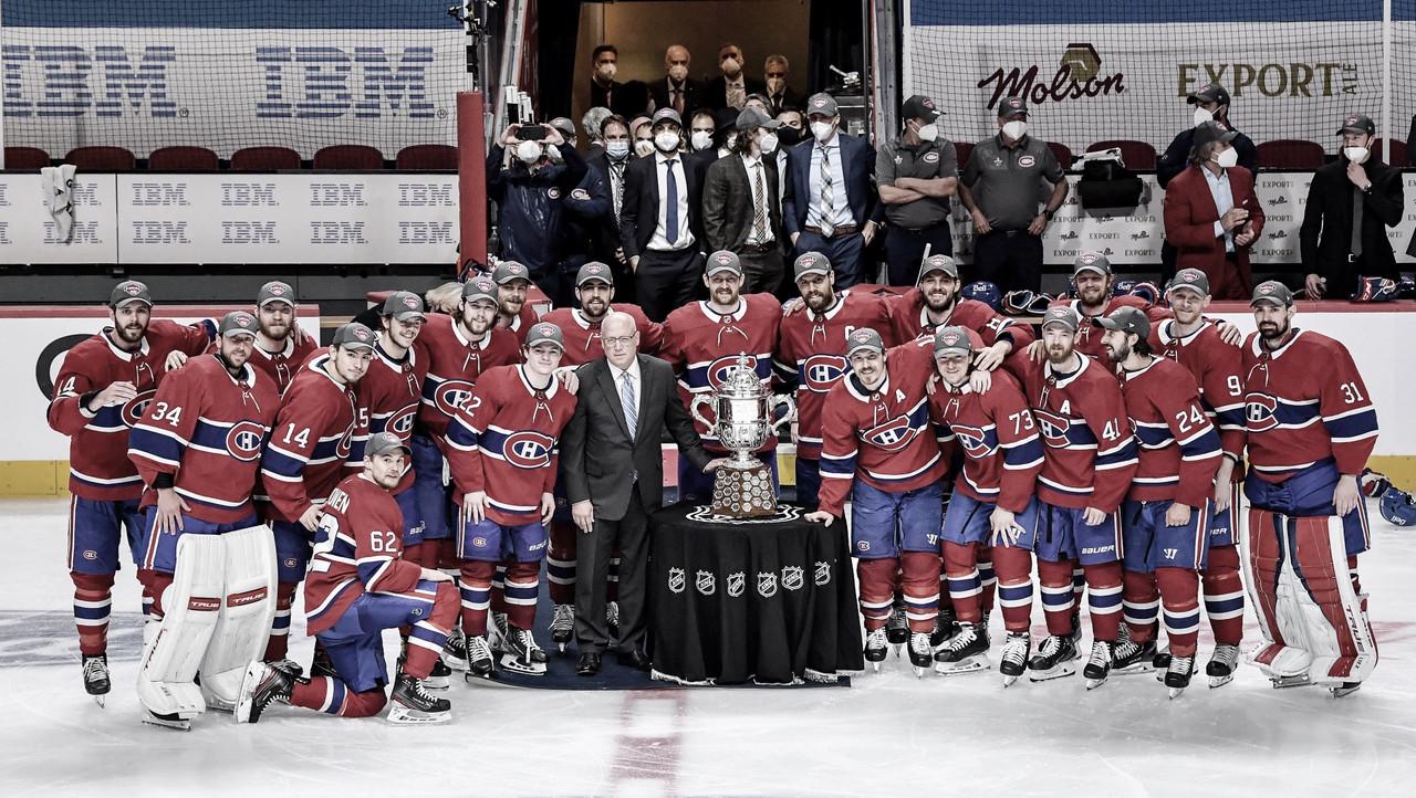 Los Montreal Canadiens regresan a su primera Stanley Cup Final desde 1993