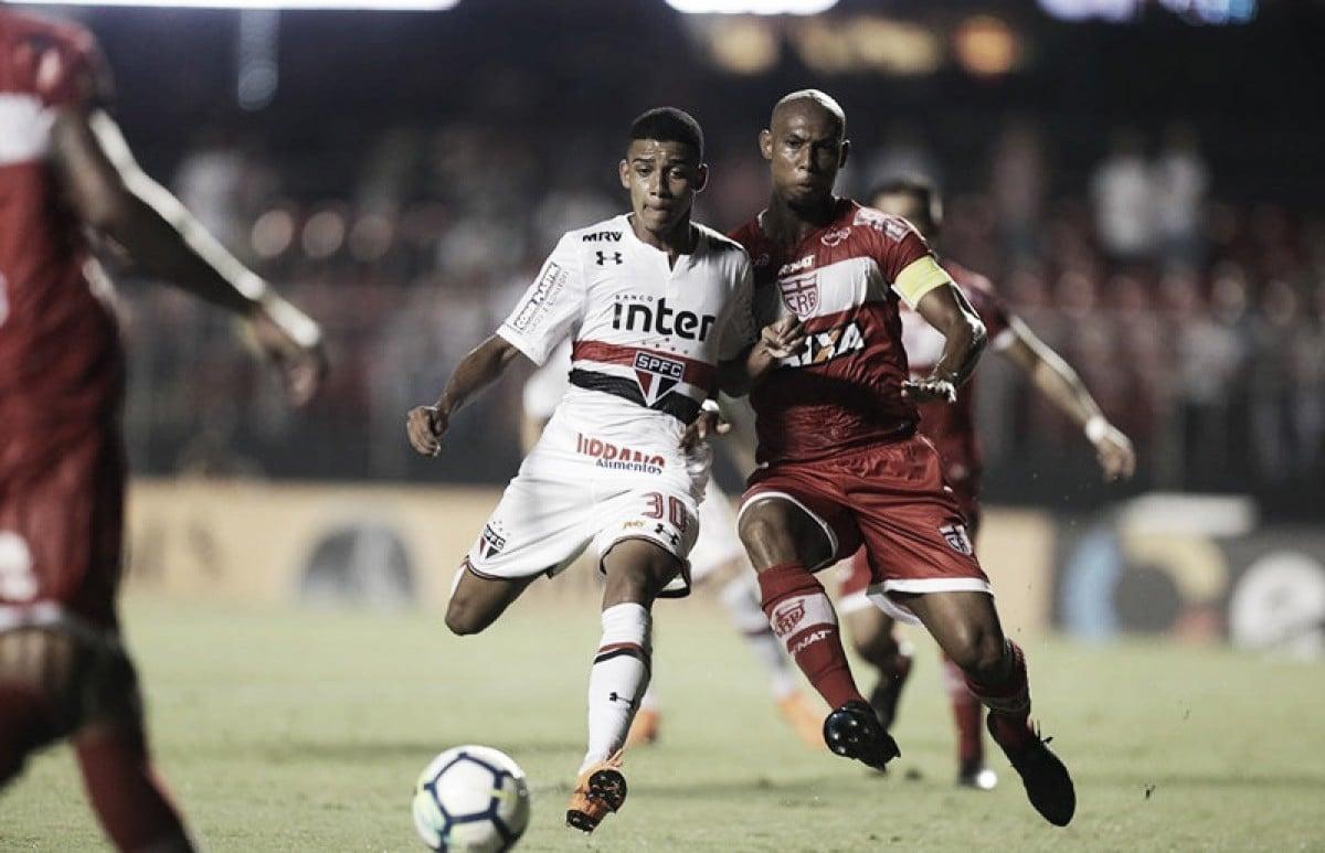 Ainda sem Aguirre, São Paulo decide classificação diante do CRB na Copa do Brasil