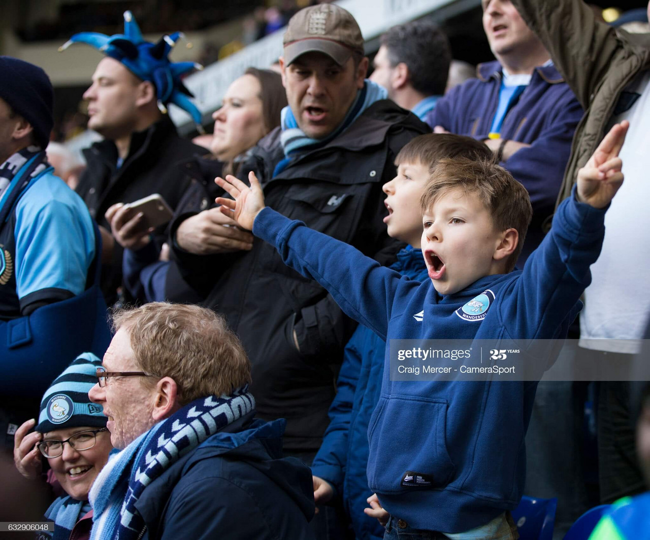 Wycombe fans will finally return to Adams Park this week to see their side in Championship action for the first time in the clubs history. (Photo by Craig Mercer - CameraSport via Getty Images)
