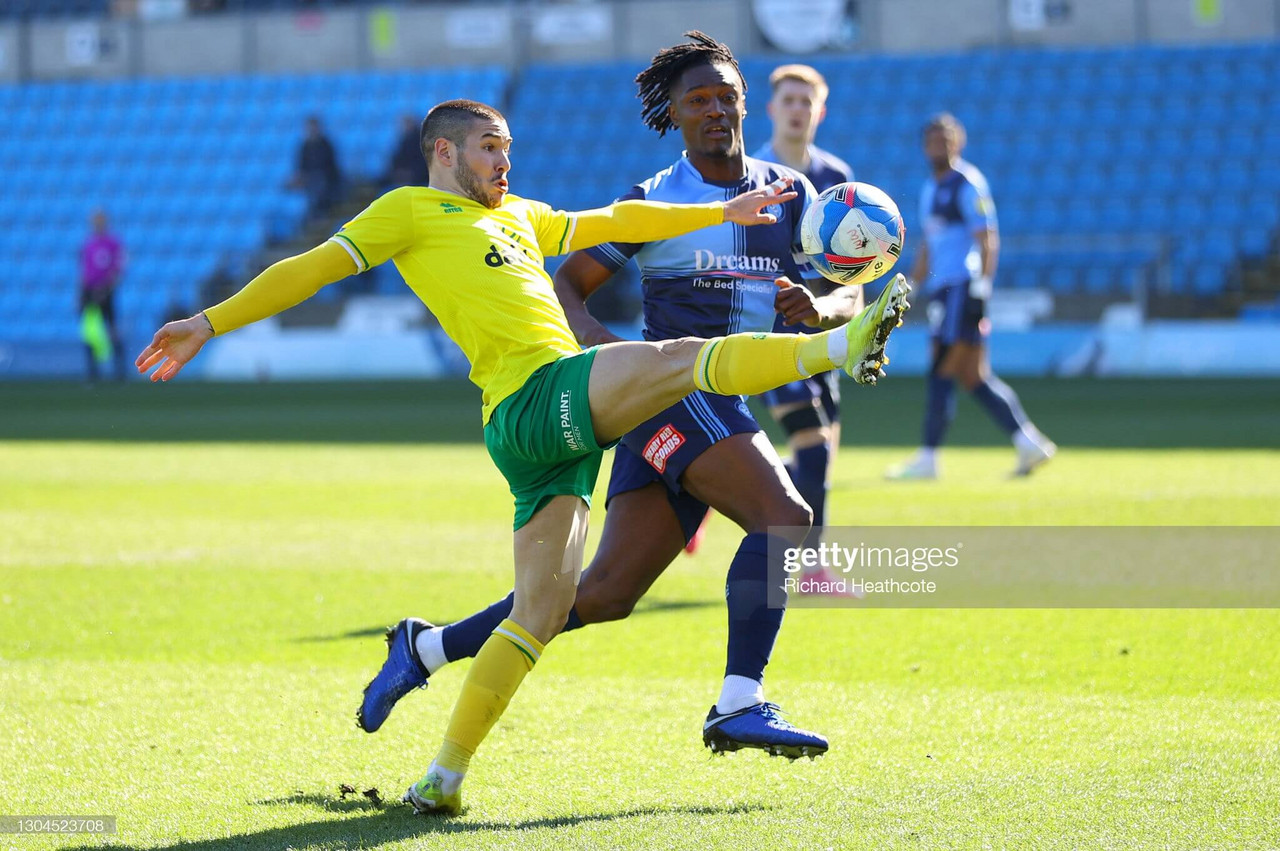 Wycombe Wanderers 0-2 Norwich City: Canaries battle past the Chairboys after an entertaining second-half performance