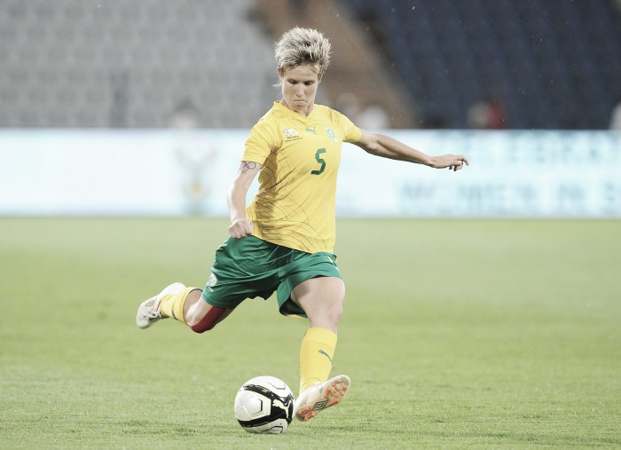 Houston Dash sign Janine Van Wyk