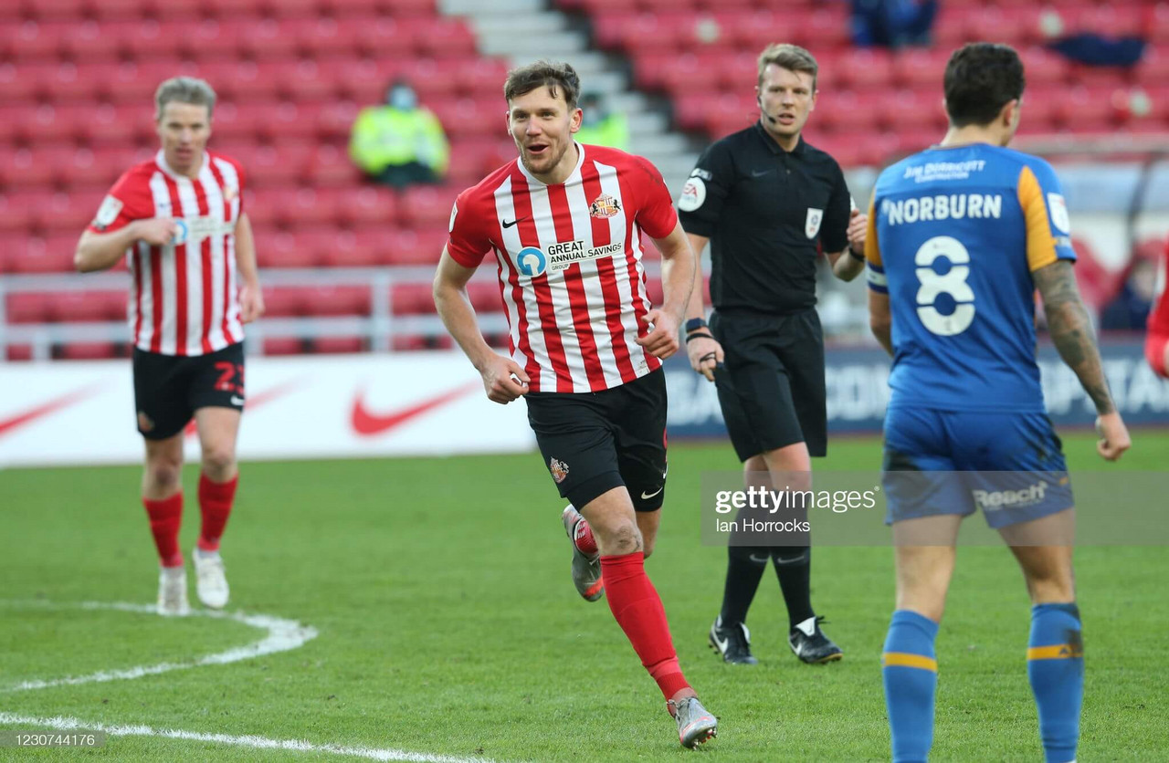 Sunderland 1-0 Shrewsbury Town: Wyke header the difference for the Black Cats