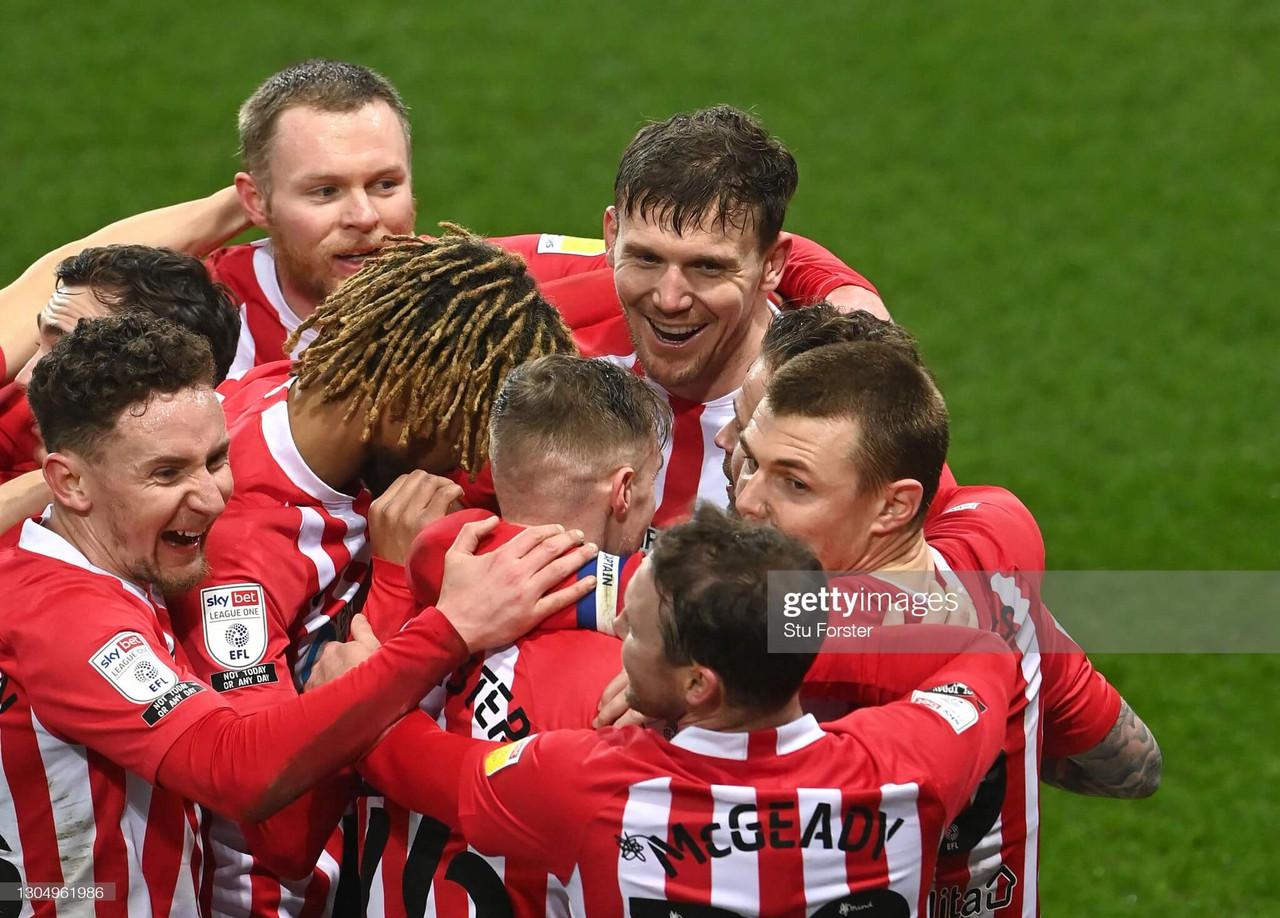 Sunderland 1- 0 Swindon Town: Wyke header moves Sunderland into top four