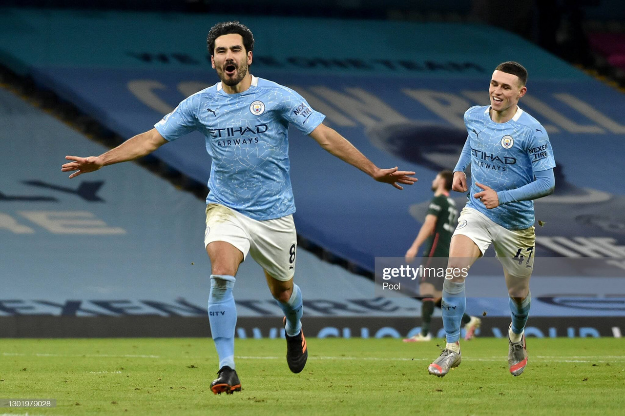 Manchester City 3-0 Tottenham Hotspur: Gundogan-inspired City brush past Spurs to increase their lead at the top