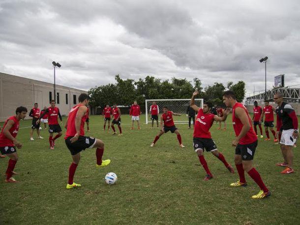 Xolos entrenó en Guadalajara