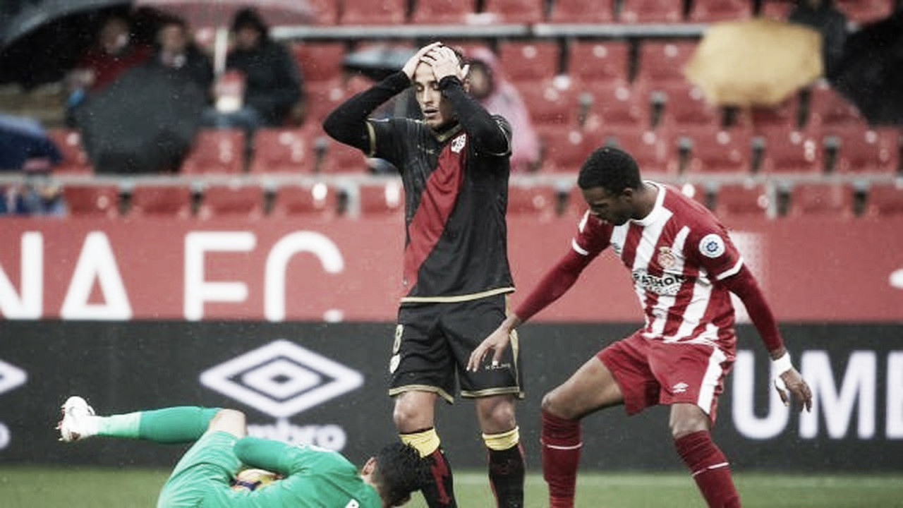 Puntuaciones Girona-Rayo Vallecano: puntuaciones del Rayo Vallecano, décima jornada de LaLiga