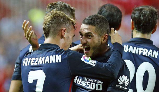 """Koke: """"Estamos contentos, el Sevilla es un rival directo para nosotros"""""""