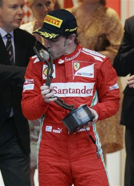 """Alonso: """"Mi objetivo era acabar por delante de Vettel y Hamilton"""""""