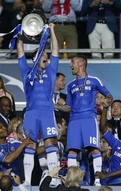 """Terry: """"Gran mérito de todo lo logrado es de Di Matteo"""""""