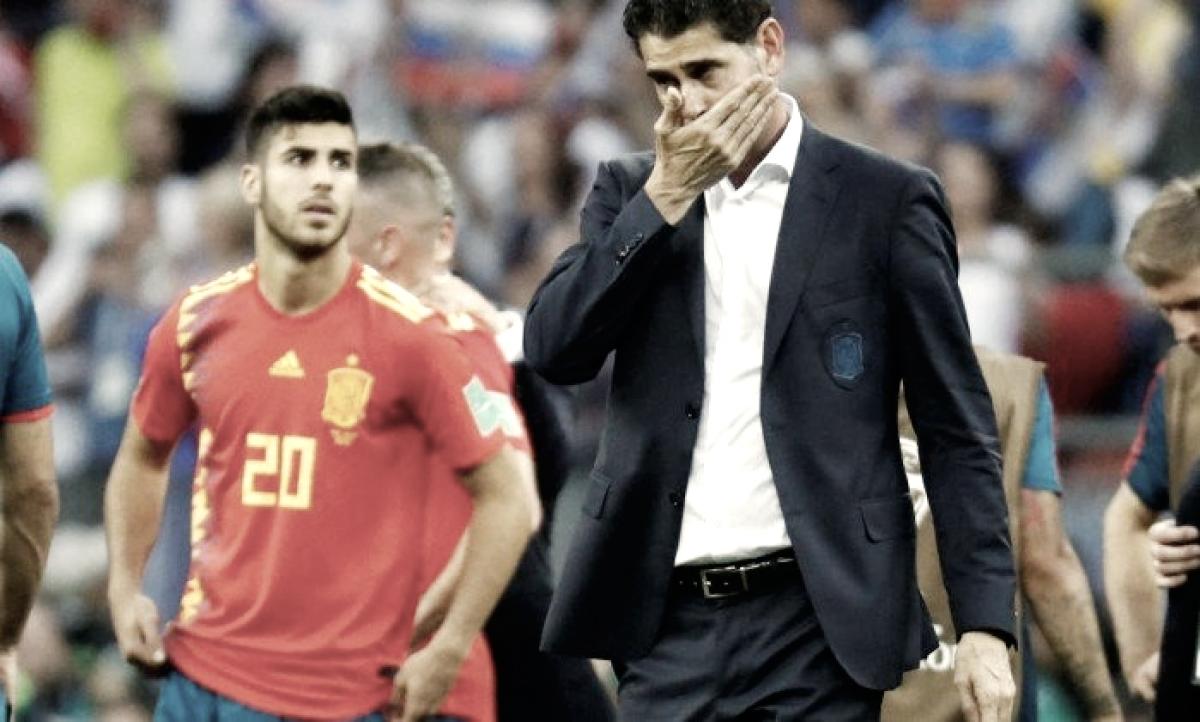 Após insucesso na Copa, Fernando Hierro deixa comando da seleção espanhola