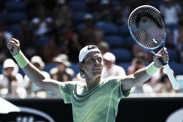 Australian Open: Tomas Berdych routs Fabio Fognini to seal quarterfinal berth
