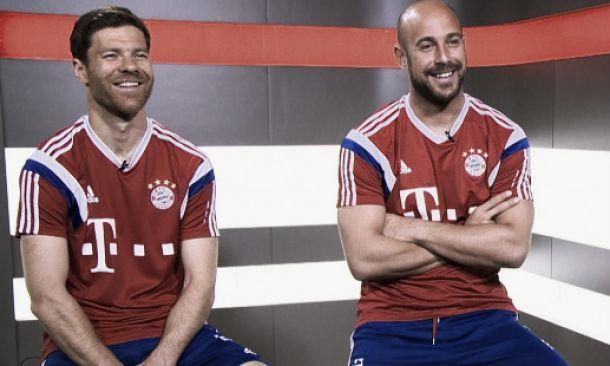 Former Liverpool stars Xabi Alonso and Pepe Reina relishing Anfield return