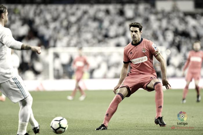 """Xabi Prieto: """"No competimos en Madrid y entendemos el cabreo de la afición"""""""