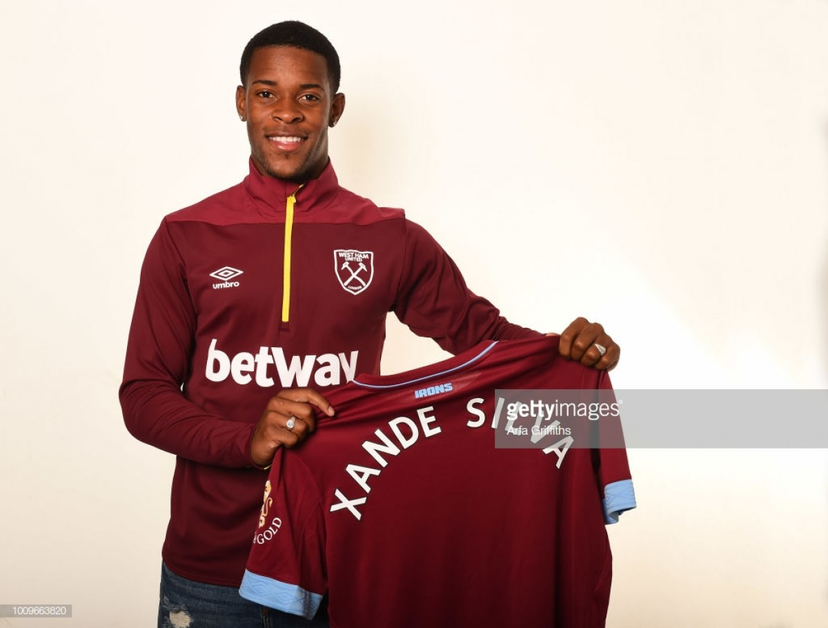 Xande Silva makes his mark with debut hat-trick for West Ham's Under-23s