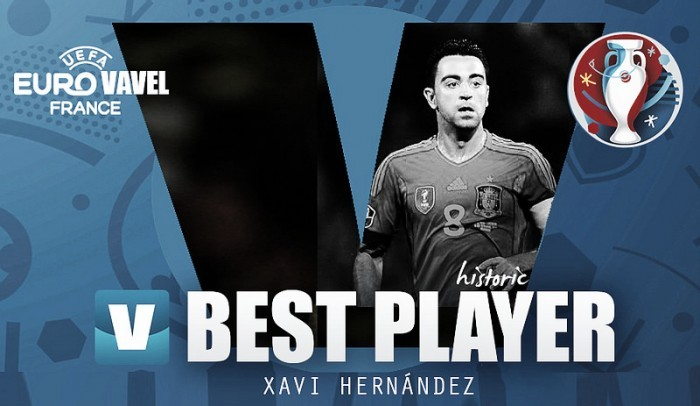 Best player in the European Championship: Xavi, the master of puppets