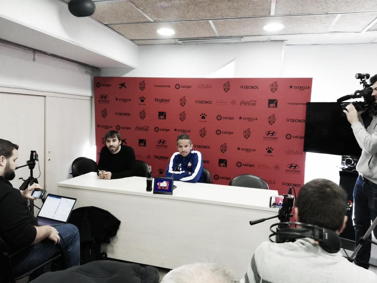 Xavi Bartolo: ''Hay que estar preparados, el lunes puede suceder cualquier cosa''