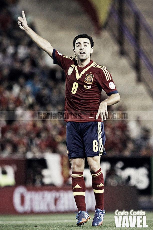 """Xavi: """"Me gustaría despedirme del Mundial en buenas condiciones"""""""