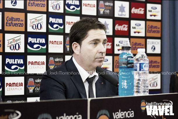 """Xavi Pascual: """"En el tercer cuarto nos faltó acierto e intensidad"""""""