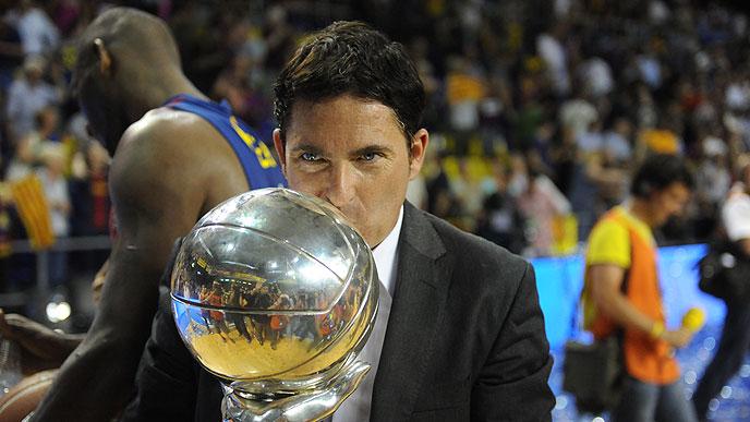 """Xavi Pascual: """"Pongo esta victoria a la misma altura del título de Euroliga"""""""