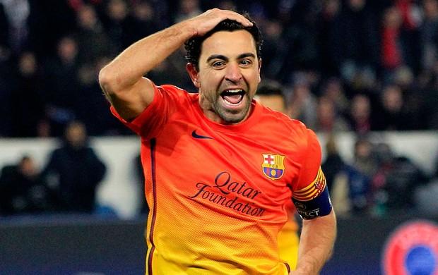 Xavi dedica gol de pênalti à criança com leucemia