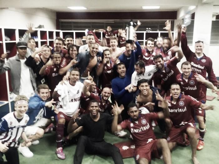 Caxias é campeão da Divisão de Acesso com uma rodada de antecedência e volta à elite gaúcha
