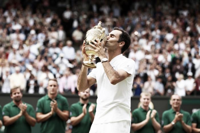 Wimbledon: Roger Federer routs Marin Cilic to claim 19th Grand Slam title