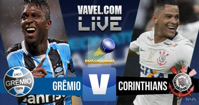 Resultado de Grêmio x Corinthians no Campeonato Brasileiro 2016 (3-0)