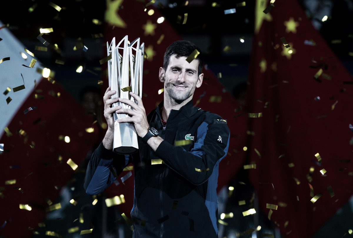 ATP Shanghai: Novak Djokovic dismantles Borna Coric to win his fourth crown in Shanghai
