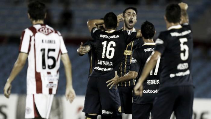 River (Uru)1 - 3 Rosario Central: puntajes del 'Canalla'