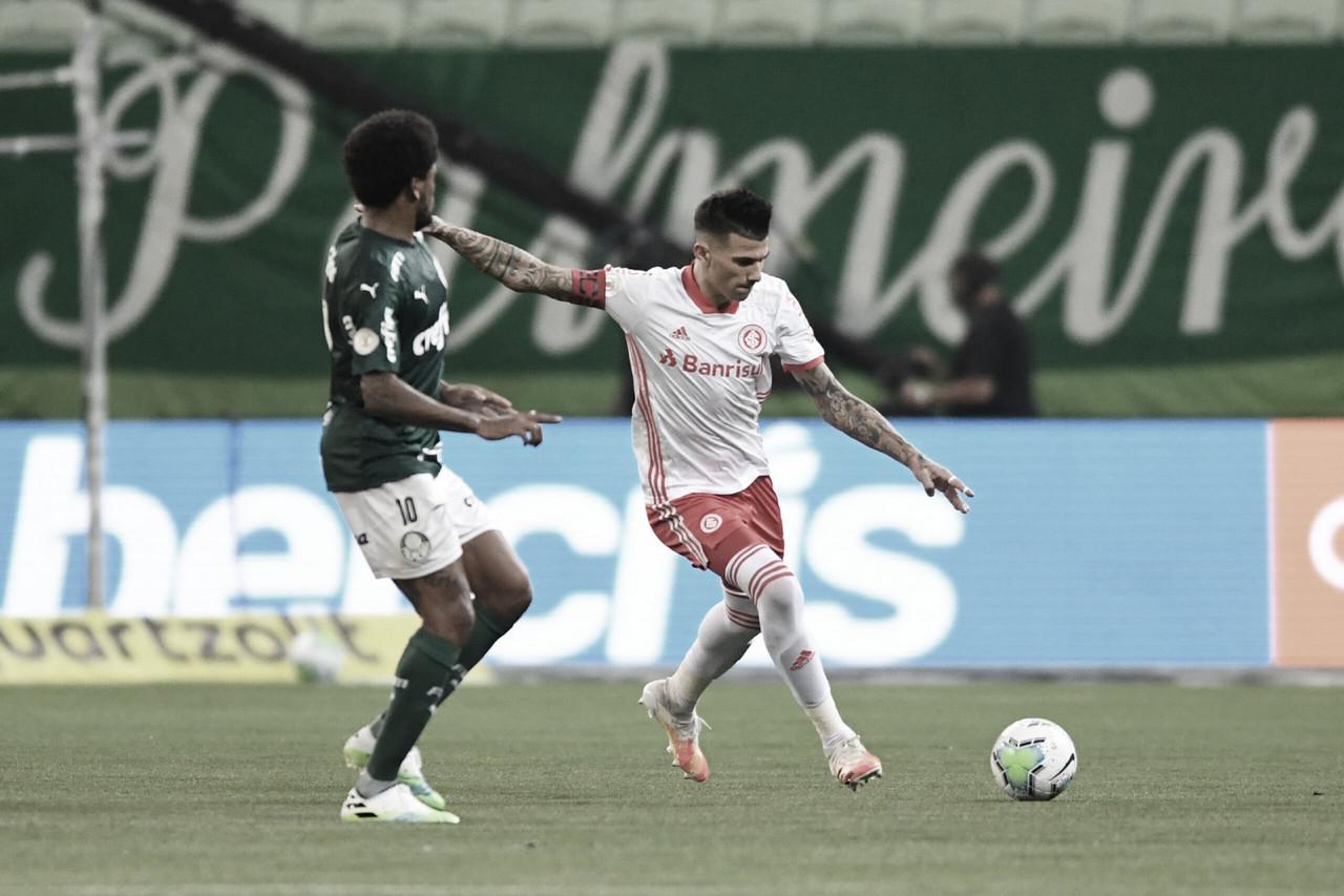 Em dia de despedida de D'Alessandro, Internacional recebe Palmeiras