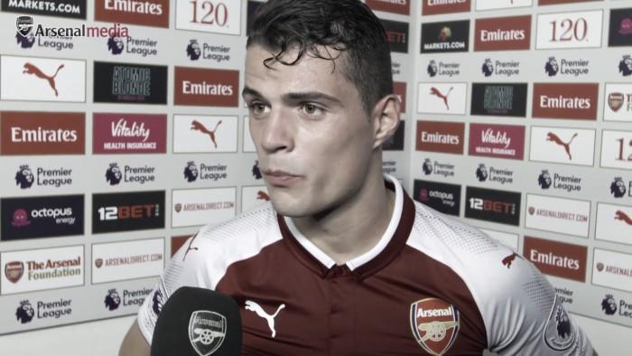 """Xhaka: """"El segundo gol del Leicester fue mi error, pero era importante seguir trabajando"""""""