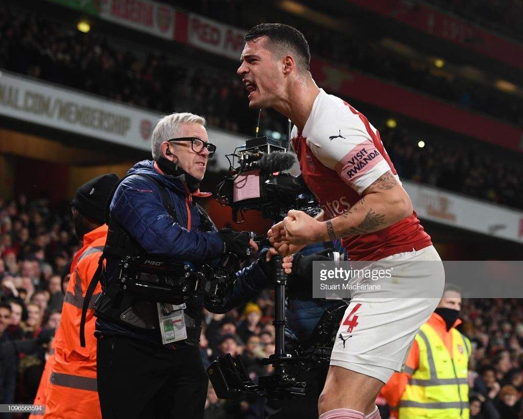 Granit Xhaka: We showed amazing spirit