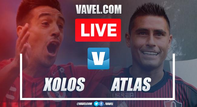Resumen y video goles: Xolos 2-2 Atlas en Liga MX 2019