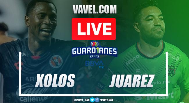 Goals and Highlights Xolos Tijuana 2-1 FC Juárez, Guard1anes 2020 Liga MX