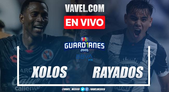 Resumen completo y Goles del Xolos 2-1 Rayados en el Guard1anes 2020