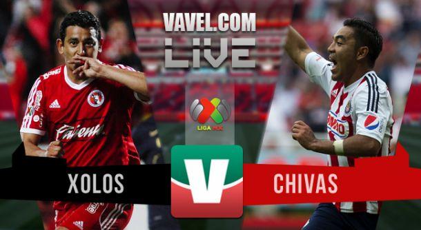 Resultado Tijuana - Chivas en Liga MX 2015 (1-1)