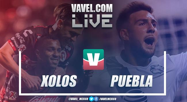 Goles y resumen Xolos 4-0 Puebla en Liga MX 2019