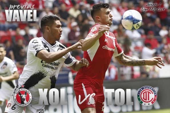 Previa Xolos Tijuana vs Toluca: el 'Perro' no muerde y el 'Diablo' no asusta