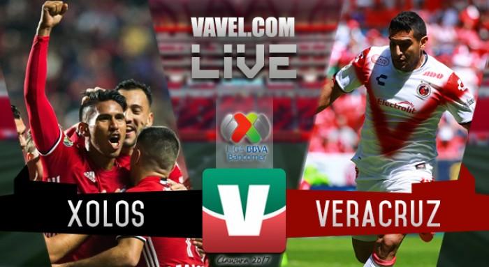 Resultado y goles del Xolos 1-0 Veracruz de la Liga MX 2017