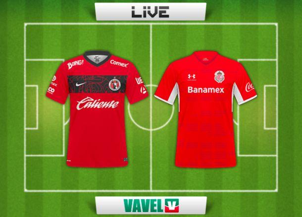 Resultado Xolos - Toluca en Liga MX 2014 (0-1)